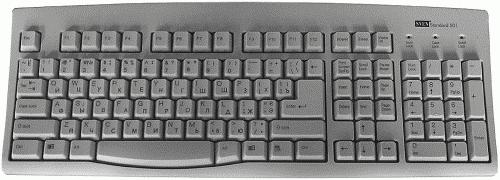 Виды клавиатур или какие бывают клавиатуры? А так же нестандартные ...